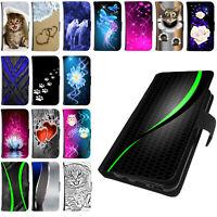 Schutz Hülle für Huawei Handy Tasche Flip Case Cover Bumper Book Etui Motiv