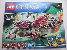 New Sealed Lego Chima 70006 Cragger's Command Ship