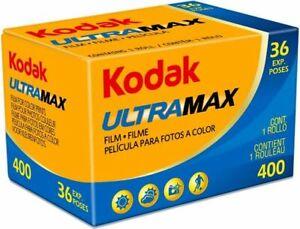 Kleinbildfilm KODAK ULTRAMAX  400 ASA 36 Aufnahmen 2 Filme  MHD 01/2023