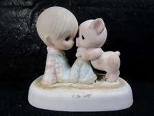 """Precious Moments """" Were In It Together """" Figure Retired"""