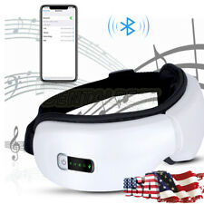 Foldable Eye Massager Wireless Air Electric Pressure Heat Therapy Care Digital