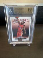 2003-04 Upper Deck MVP #201 Lebron James Rookie Card BGS 9.5 GEM MINT LAKERS