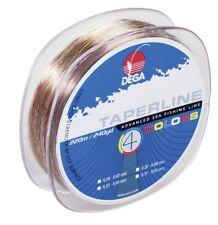 DEGA TAPER LINE 4-color SCHLAGSCHNUR 4-farbig 0,30 - 0,60mm  220m (0,063€/1m)