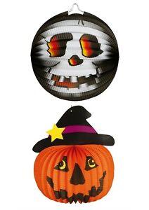 TRIXES Pop-Up Halloween Carta LED Lanterne 4 Confezione