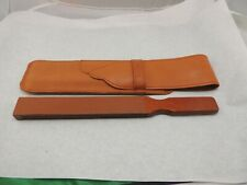 THIERS-ISSARD~PADDLE STROP~LARGE 1 6/16 STROPPING SURFACE~SUEDE~ DOUBLE SIDED