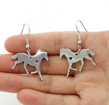 HORSE & WESTERN JEWELLERY JEWELRY SILVER HORSE  EARRINGS LADIES WOMENS