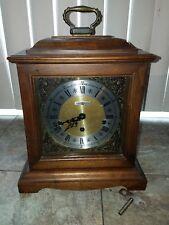 Vintage Howard Miller Mantle Westminster Chime Clock Working