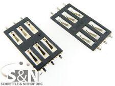 IPhone 3g 3gs simleser Sim Bandeja slot tarjetas contactos lector pins