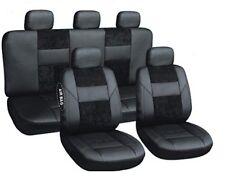 Sitzbezüge Autoschonbezüge Schwarz geeignet für Toyota Land Cruiser J150 ab 2009