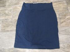 Women's Divided Skirt Size 6 NWT Navy Blue Stretch Skirt