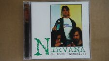 "NIRVANA ""B-SIDE THEMSELVES"" PRO SOURCED SILVER DISC CD-BRAND NEW-NEVER USED!RARE"
