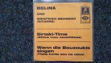 "Belina e Siegfried Behrends-SIRTAKI-Time 7"" single"