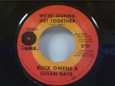 "BUCK OWENS / SUSAN RAYE ""WE'RE GONNA GET TOGETHER / EVERYBODY NEEDS SOMEBODY"" 45"