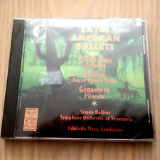 Latin American Ballets by Villa Lobos, Chavez & Ginastera (CD 1995) NEW/SEALED