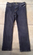 Lee Riders Girl's Size 10.5 Straight Leg Demin Jeans With Adjustable Waistband