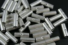 8 GAUGE 2 PK UNINSULATED NON INSULATED BUTT CONNECTOR CRIMP TERMINAL WIRE