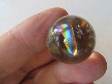 A Natural Citrine Quartz Rainbows Ball Crystal Sphere Healing  8.4g