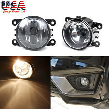 2x 55W Clear Lens Fog Light Lamps w/ H11 Bulb for Acura Honda Ford Nissan