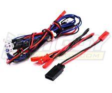 LED Light Set System for 1/10 Touring Car (6V) 4 Blue & 2 Red LEDs