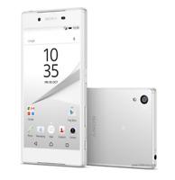 """Débloqué Téléphone 5.2"""" Sony Ericsson XPERIA Z5 E6653 32 Go 23MP 4G LTE - Blanc"""