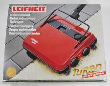 UNUSED LEIFHEIT TURBO ADJUSTABLE FLOOR CARPET SWEEPER BRUSH SLANY DESIGN GERMANY