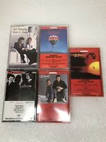 Lot of 5 Air Supply Cassette Tapes The one you Love Now & Forever Hearts in Moti