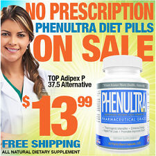 60CT PhenUltra Like Adipex P 37.5 Rapid Quick Strong Best Weight Loss Diet Pills