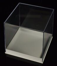 Qty 6 - Medium (2 in) Cube Perky Mineral Rock Fossil Polystyrene Display Boxes