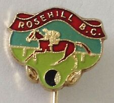 Rosehill Bowling Club Pin Badge Horseracing Original Rare Vintage (K6)