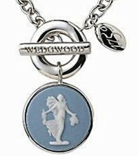 STERLING SLIVER WEDGWOOD JEWELRY NECKLACE  NEW IN BOX