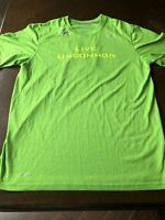 Nike Dri-Fit Green Med Live Uncommon Never Give Up B1