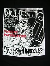 FREE SAME DAY SHIPPING NEW CLASSIC PUNK D.R.I. VIOLENT PACIFICATION SHIRT MEDIUM