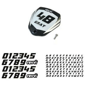 """Revvi 12"""" electric bike motorcycle number and name board kit! Free Shipping!"""