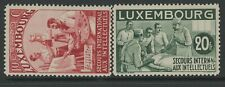 LUXEMBOURG, MINT, #B65A-Q, OG NH, CS/15, (2) SHOWN, GREAT CENTERING