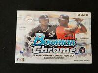 2020 Bowman Chrome HTA Choice Baseball Hobby Box - New/Sealed