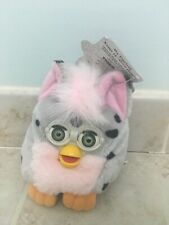 Pink and grey furby buddy new with tags