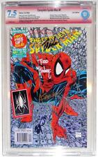 CBCS 7.5 COMPLETE SPIDER-MAN #1~MARVEL COMICS UK~SIGNED STAN LEE~McFARLANE~MORE!