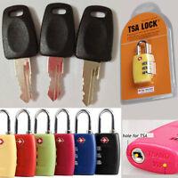 TSA 007 lock + key Security Lock Travel Luggage Key TSA Lock Key Bag Customs Key