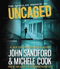 John Sandford & Michele Cook * UNCAGED * Unabridged CD *NEW* FAST Ship!
