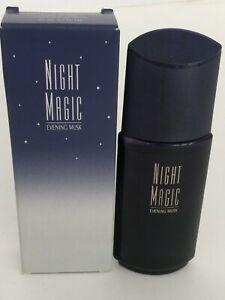 VINTAGE 1999 AVON Night Magic Evening Musk Perfume Women 1.7oz/50m Cologne Spray