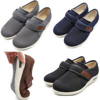 Elderly Men Diabetic Slippers Breathable Lightweight Swollen Feet Edema Shoes