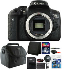 Canon EOS 750D / T6i 24.2MP Digital SLR Camera Body with 16GB Top Accessory Kit