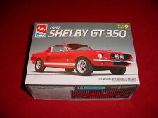 NEW IN THE BOX SHELBY FORD MUSTANG GT-350 FASTBACK MODEL KIT COMPLETE 1/25