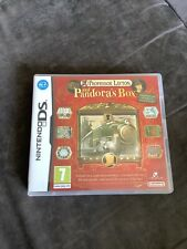 Professor Layton And Pandoras Box Ds Game With Manual