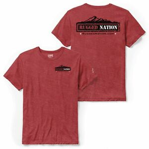 Rugged Nation Triblend Tshirt by League 91 Resort Wear