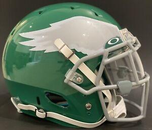 Philadelphia Eagles Authentic Throwback Schutt DNA Helmet L