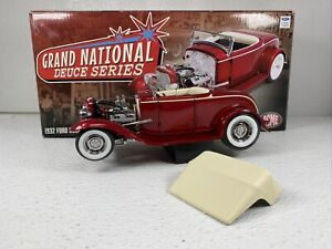 1/18 GMP Acme  1932 Ford Grand National Deuce #5 Burgandy  A1805010 READ ME
