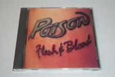 Poison Flesh And Blood Enigma Capitol Records CD Album 1990 Free Ship -0614