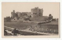 Caerphilly Castle Vintage Postcard RI Price South Wales 136c