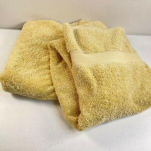 martha stewart bath towel pair pima cotton solid beige 46x25 classic modern